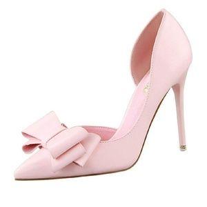 Baby Pink Bigtree heels